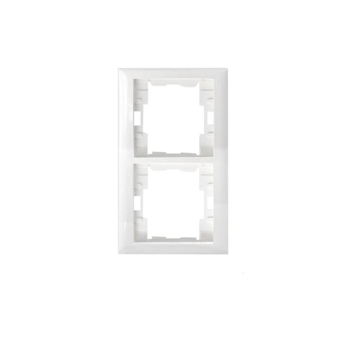 Almera - Almera Beyaz 2'li Dikey Çerçeve