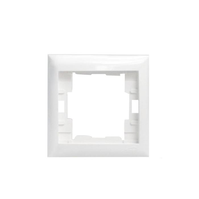 Almera - Almera Beyaz Tekli Çerçeve