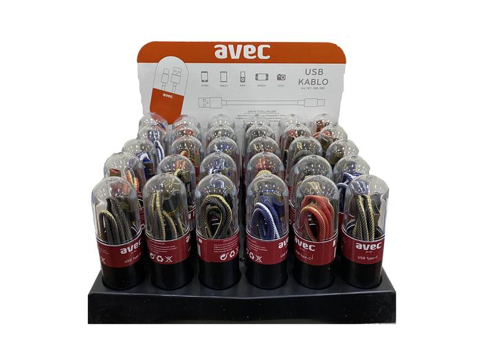 AVEC AV-187 Micro USB Kablo