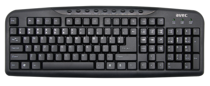 Avec - AVEC AV-KB979 Multimedya Klavye
