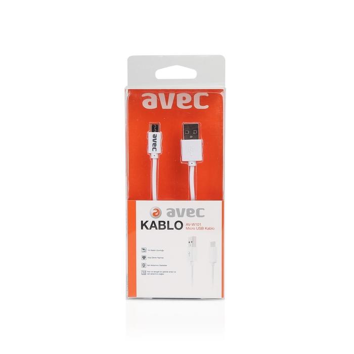 Avec Av W101 Usb-Mıcro Usb 1m Kablo