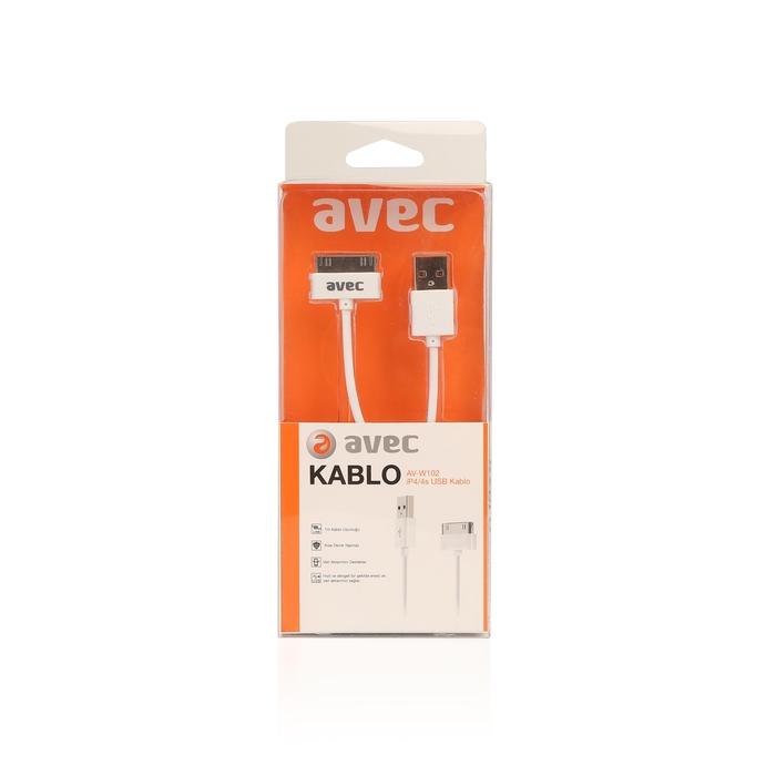 Avec Av W102 Usb-IP4/4S 1m Kablo