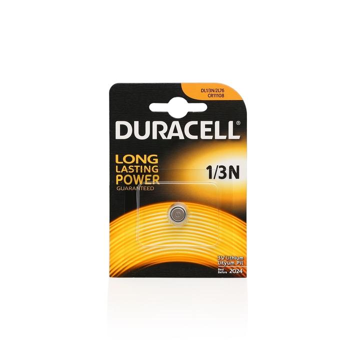 Duracell - Duracell 1/3N-2L76-CR11108 Lithium 3V Pil 1'li