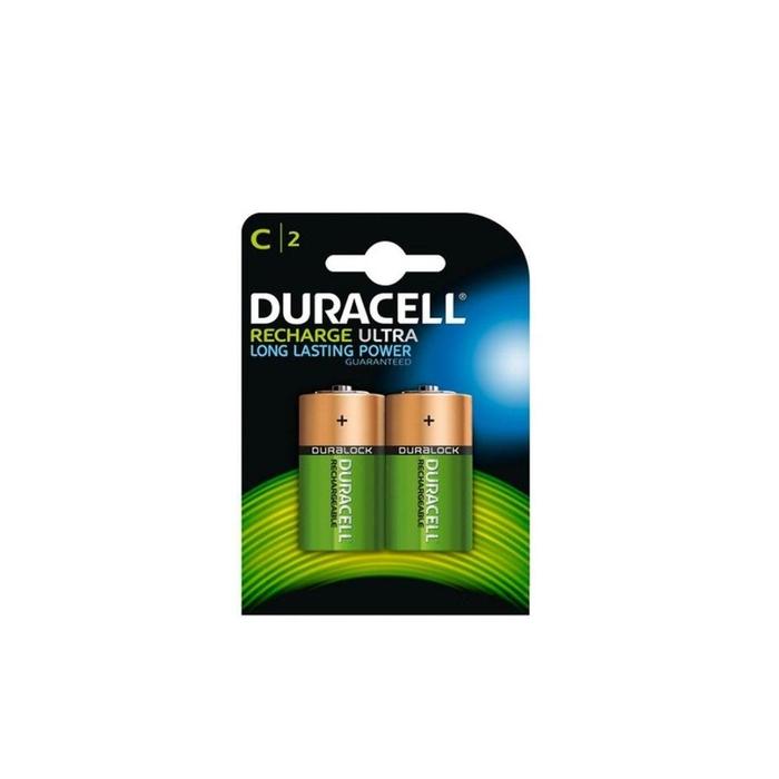 Duracell - Duracell 3000 Mah Şarjlı Orta Pil 2'li