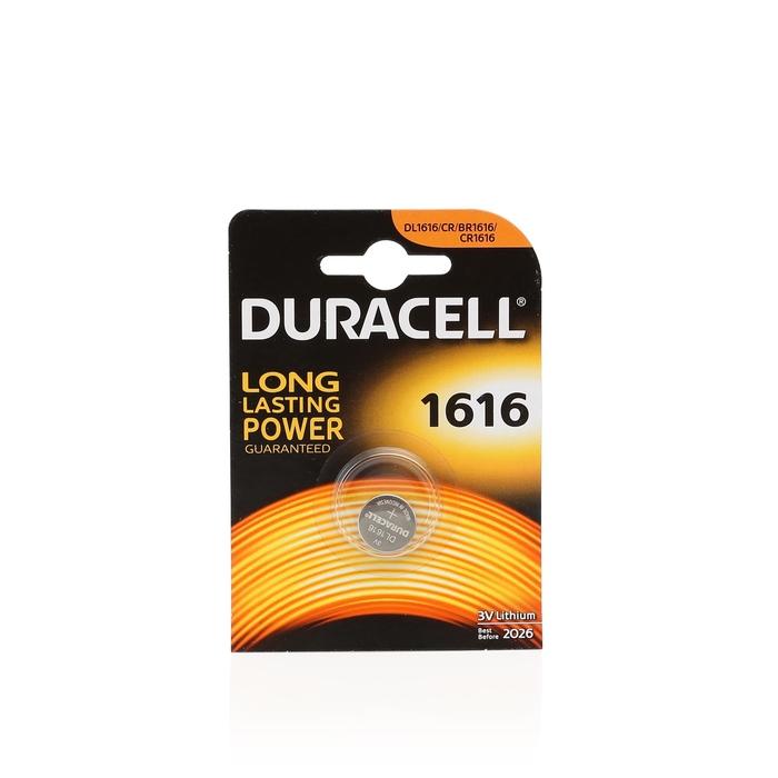 Duracell - Duracell Cr 1616 Lithium 3V Pil 1'li