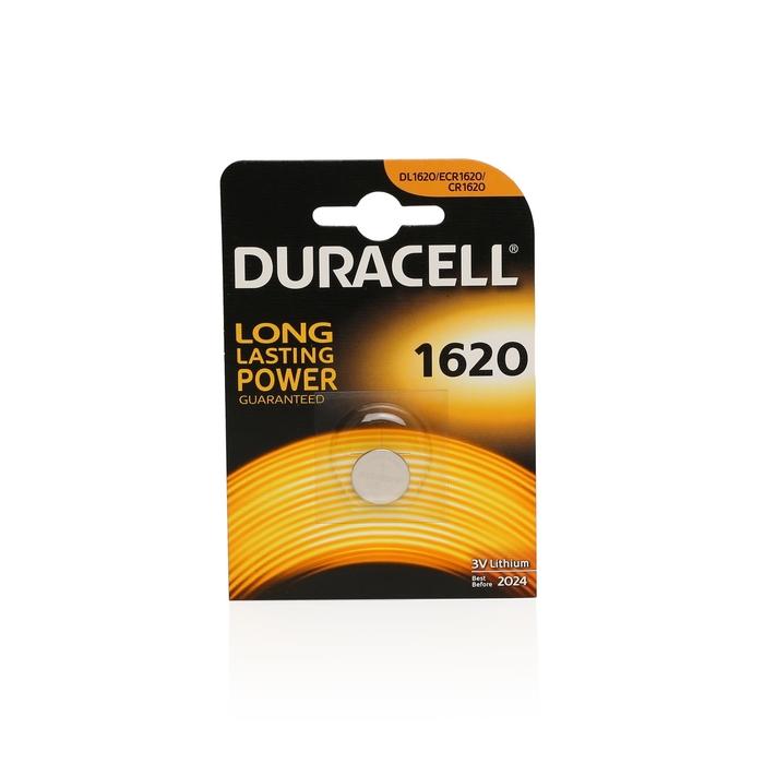 Duracell - Duracell Cr 1620 Lithium 3V Pil 1'li