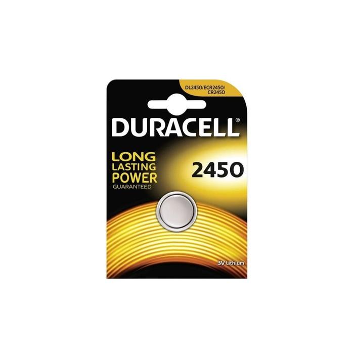Duracell - Duracell Cr 2450 Lithium 3V Pil 1'li