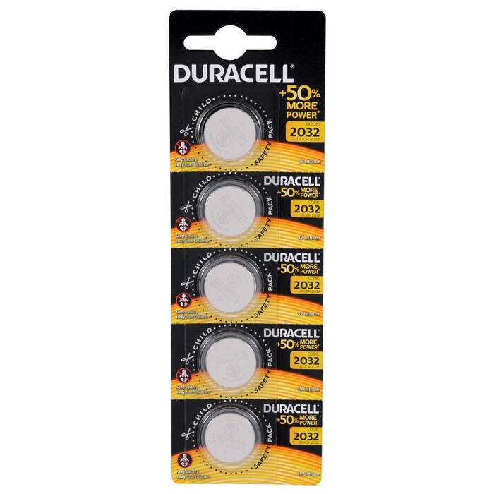 Duracell - Duracell CR2032 Lıthıum 3V Pil 5'li