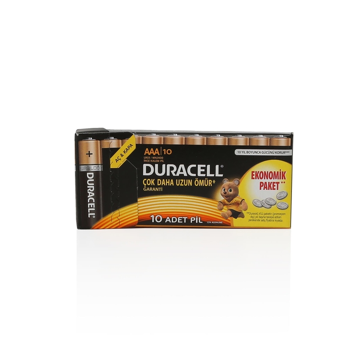 Duracell - Duracell İnce Pil 10'lu