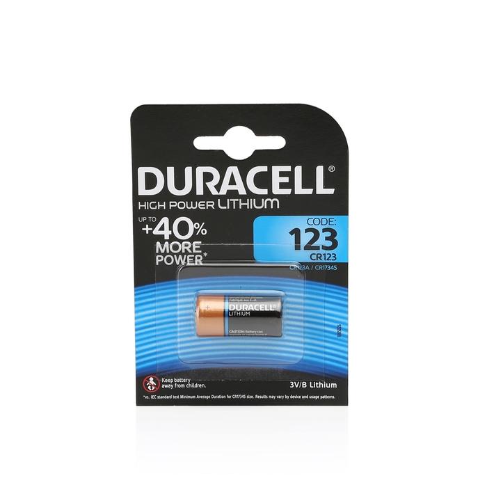 Duracell - Duracell Ultra Lityum Cr123A 1'li