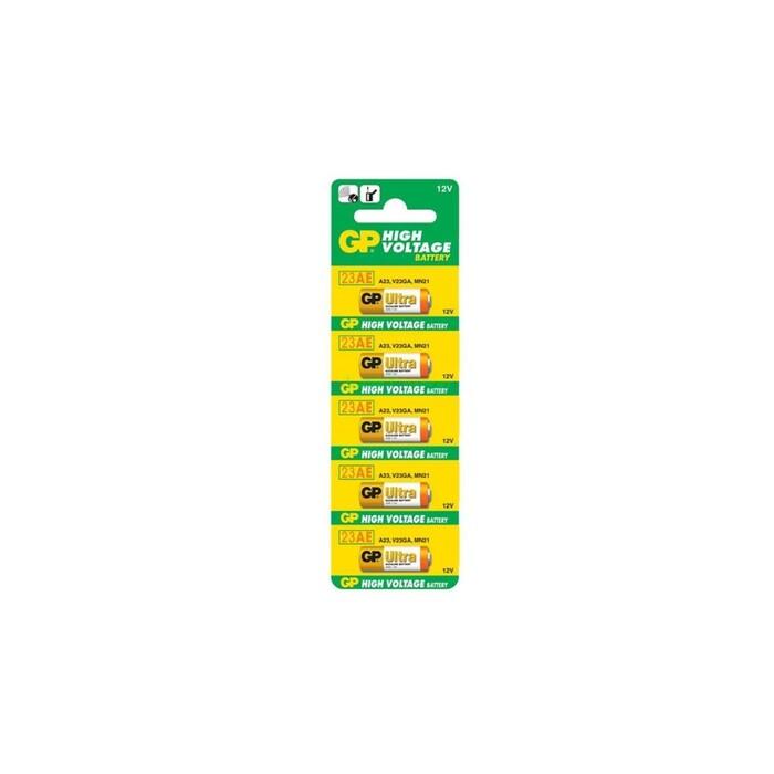 GP - GP 23A 2C5 12V Alkalin Pil 5'li