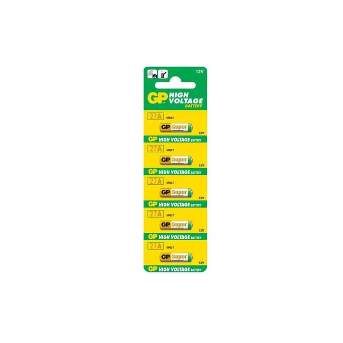 GP - GP 27A 2C5 12V Alkalin Pil 5'li