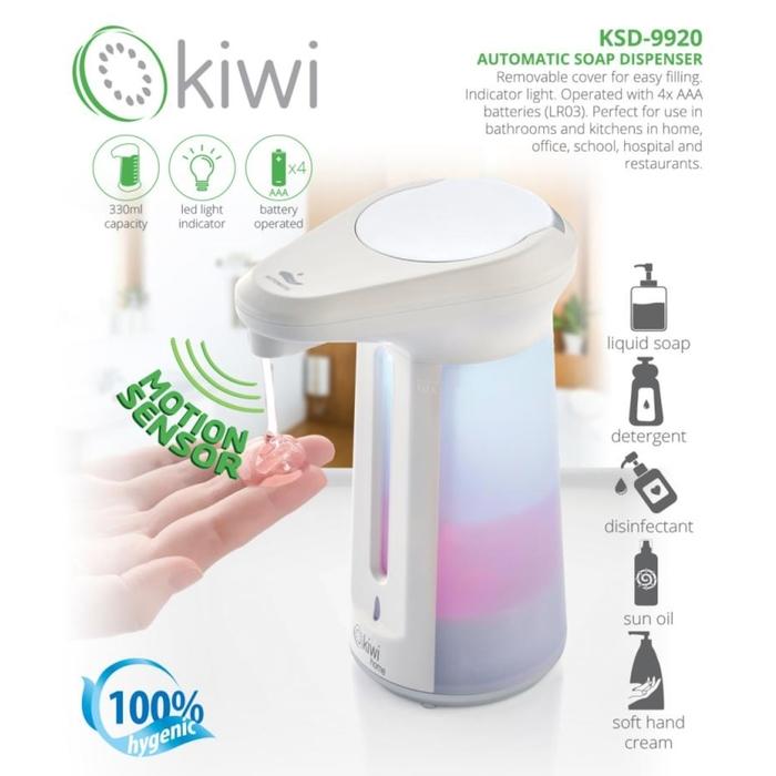 Kiwi - Kiwi Sensörlü Sıvı Sabunluk KSD-9920
