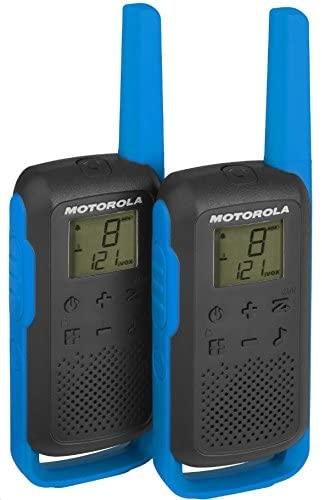 Motorola - Motorola TLKR-T62 Mavi El Telsizi Pmr İkili Set