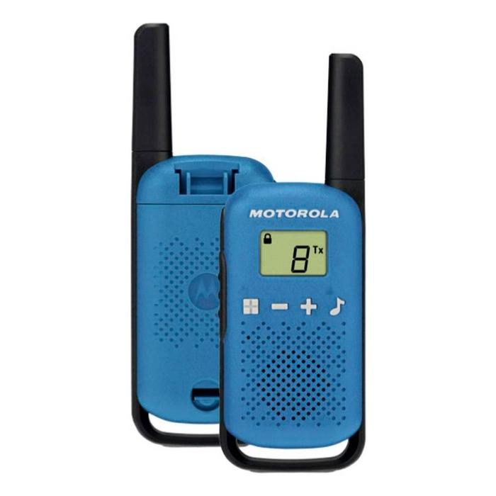 Motorola - Motorola TKLR-T42 Mavi El Telsizi PMR İkili Set