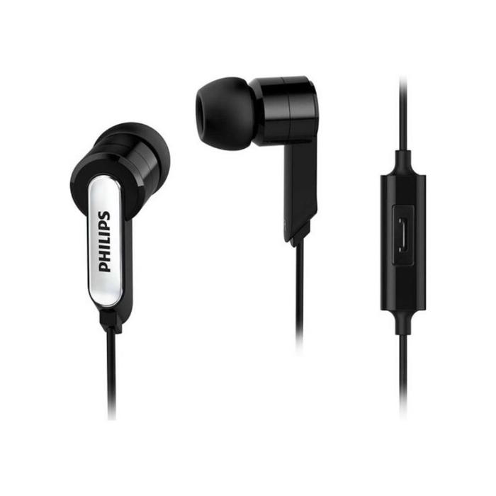 Philips - Phlips SHE1405BK Mikrofonlu Kulaklık