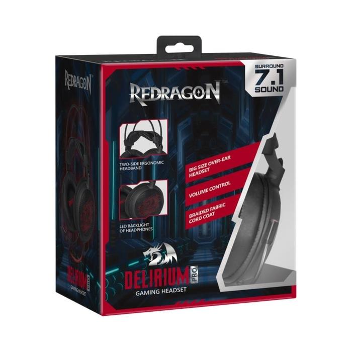 Redragon Delirium Pro 64214 7.1 Oyuncu Kulaklığı