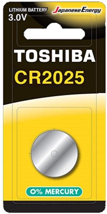 Toshiba - TOSHIBA CR 2025 LITHIUM 1Lİ PİL