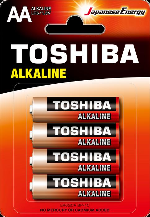 Toshiba - TOSHIBA LR6 BLS ALK.KALEM 4LÜ