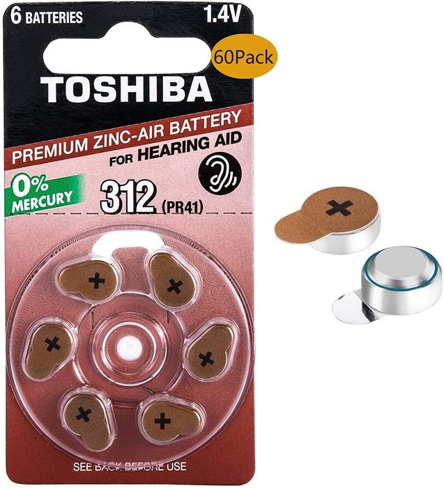 Toshiba - Toshiba PR41-312 Kulaklık Pili 6'lı