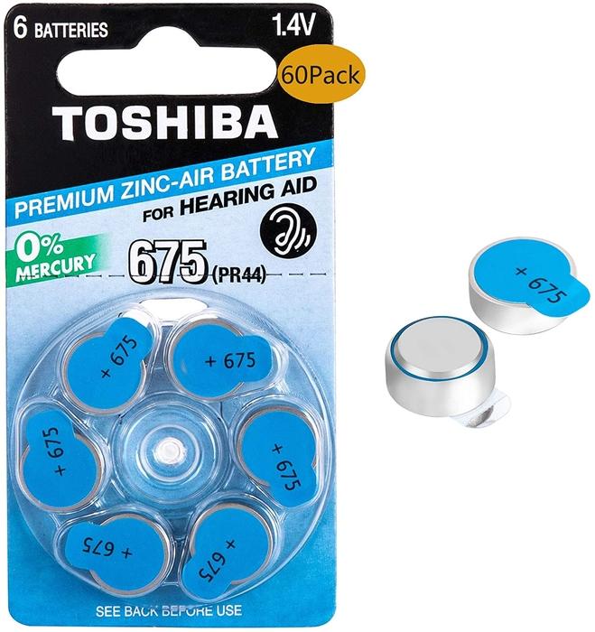 Toshiba - Toshiba PR44-675 Kulaklık Pili 6'lı