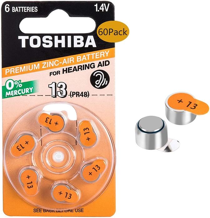 Toshiba - Toshiba PR48-13 Kulaklık Pili 6'lı