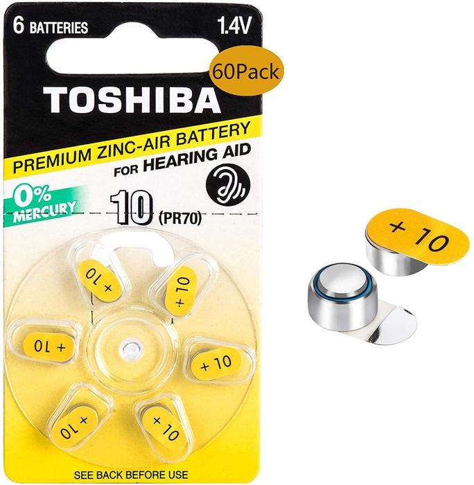 Toshiba - Toshiba PR536-10 Kulaklık Pili 6'lı