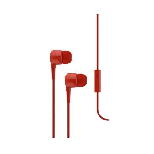 Ttec - Ttec 2KMM10K J10 Kırmızı Kulakiçi Mikrofonlu Kulaklık